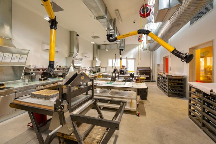 Tour the VCA Print Workshop