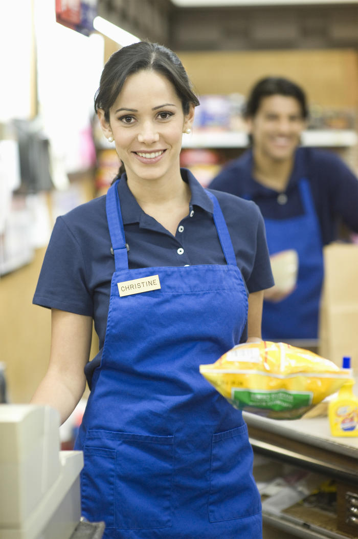 Supermarket employees are twice as likely to be subject to age discrimination. Image: Shutterstock