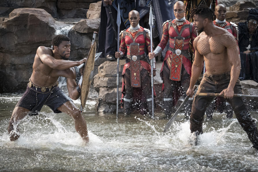 T'Challa brings the fictional African country to the brink of civil war. Picture: Marvel Studios