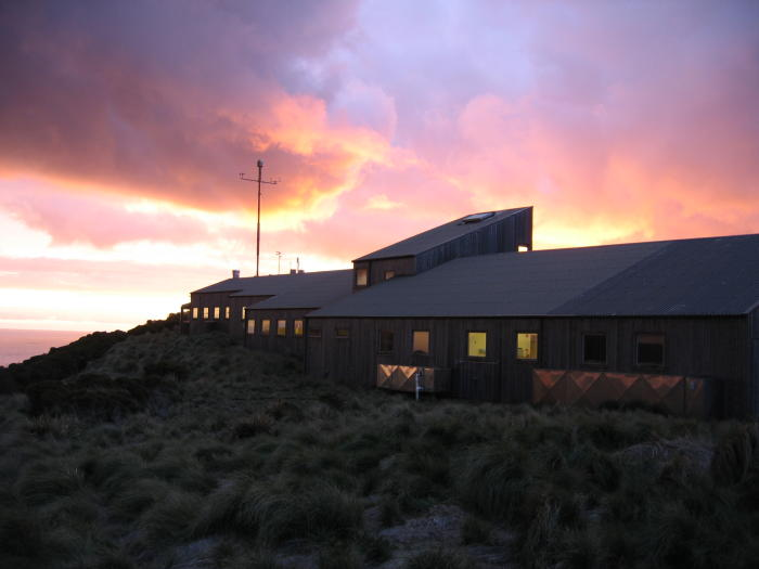 The Cape Grim research station in NW Tasmania collects greenhouse gas data for the Southern Hemisphere.
