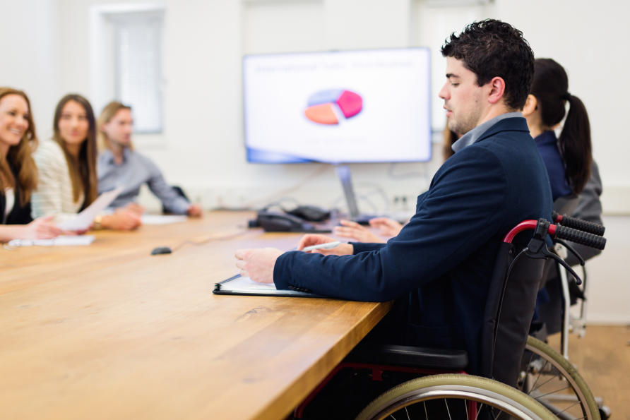 """an analysis of people with disabilities Discourse analysis of """"sport-for-development"""" also reveals the intention of   integrating disabled people into wider community life also means."""
