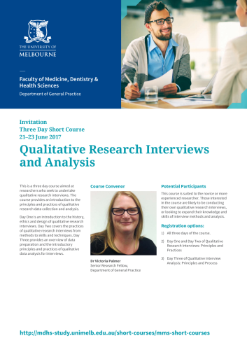 Qualitative Research Interviews and Analysis