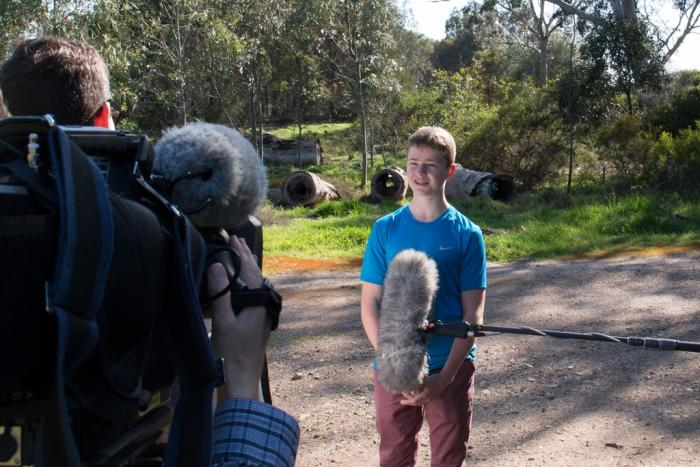 Behind the News features stories for and about young people. Picture: Behind the News
