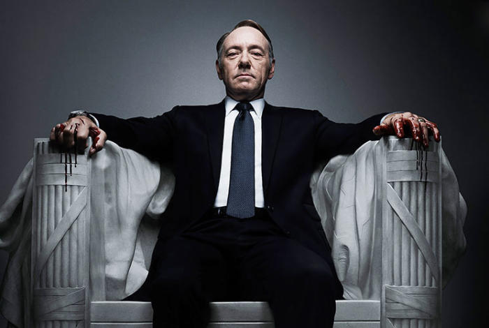 We think the real president will be like Frank Underwood from House of Cards. Picture: Courtesy Netflix