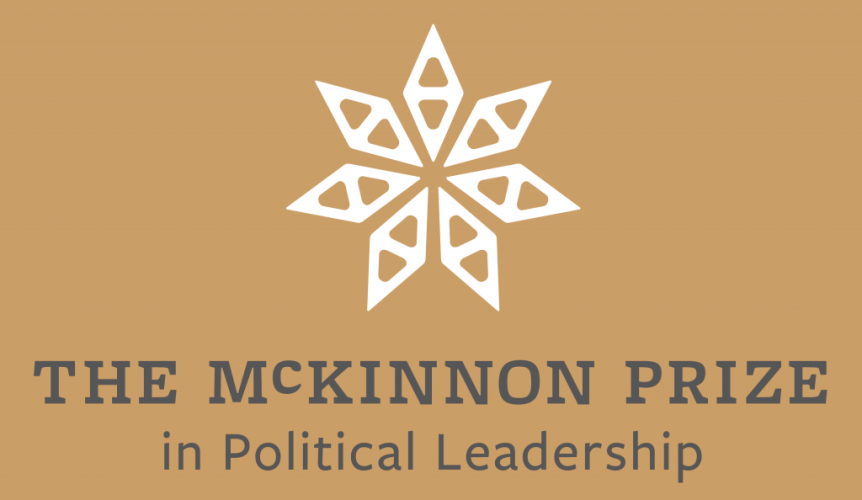 McKinnon Prize in Political Leadership Oration