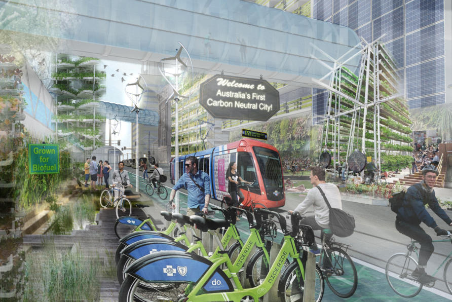 what could sustainable australian cities look like in 2040