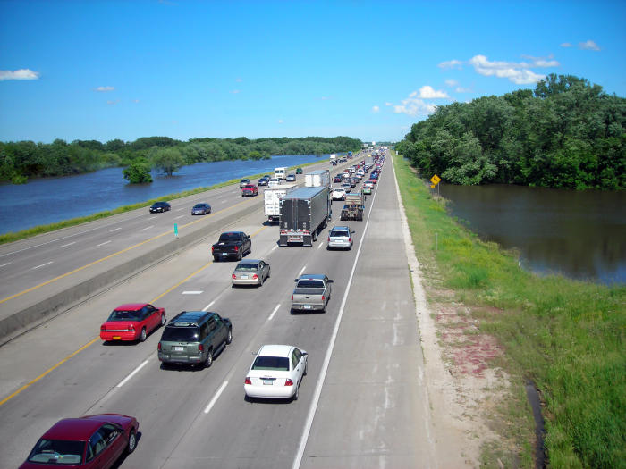Add enough vehicles and crossing between habitats becomes impossible. Picture: <a href=