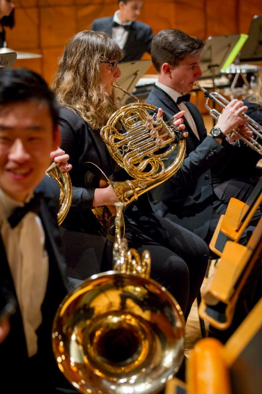 Melbourne Conservatorium of Music: Wind Symphony Day, 2016.<em> Picture: Sav Schulman.</em>