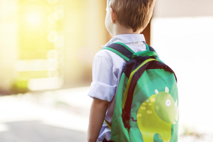 Starting school can be a scary experience – for parents as well as the child. Picture: Shutterstock