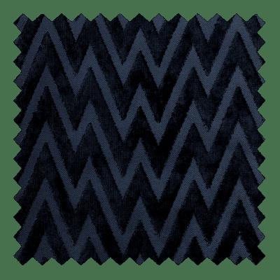 Zigzag Velvet Navy