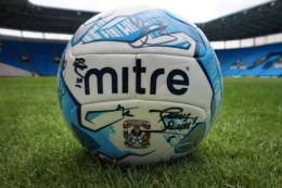 2016/17 Sky Blues signed football