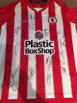 Signed jersey (home or away)