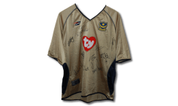 2002/3 signed replica away shirt