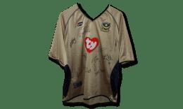 2002/3 signed replica away shirt
