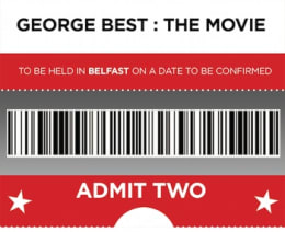 2 TICKETS TO BELFAST MOVIE EVENT + Certificate + Screenplay