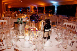 FUNDRAISING DINNER, ATTENDED BY GEORGE, ROY HODGSON AND OTHER CELEBS
