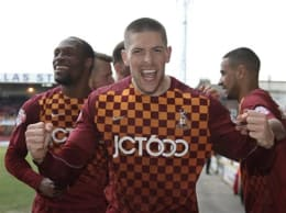 Jamie Proctor's signed match worn shirt from BCAFC's win against Doncaster