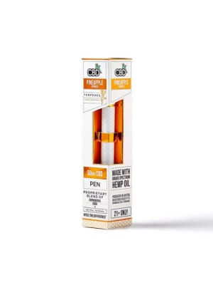 CBDfx Pineapple Express Terpenes CBD Disposable Vape Pen Kit - 50mg
