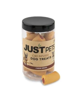 Just Brands Cheese Wraps Dog Treats