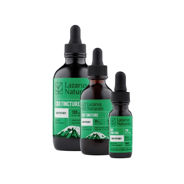 Lazarus Naturals High Potency CBD Oil