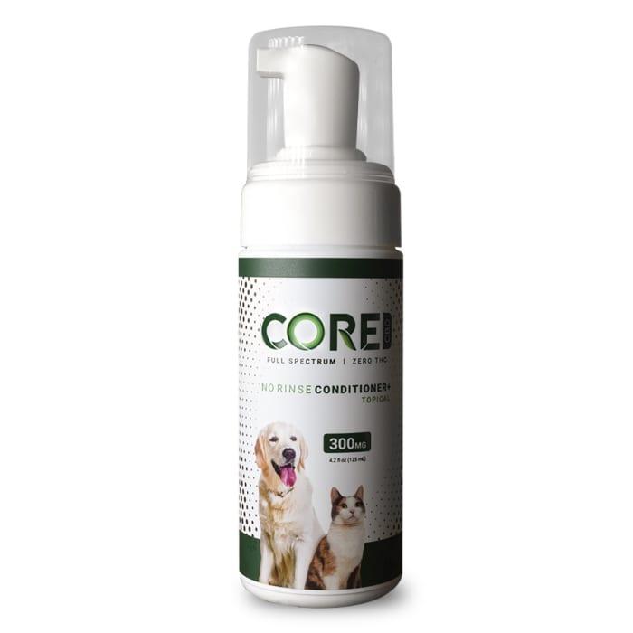 Core CBD No Rinse Pet Conditioner