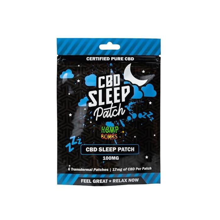 Hemp Bombs Sleep Transdermal CBD Patch