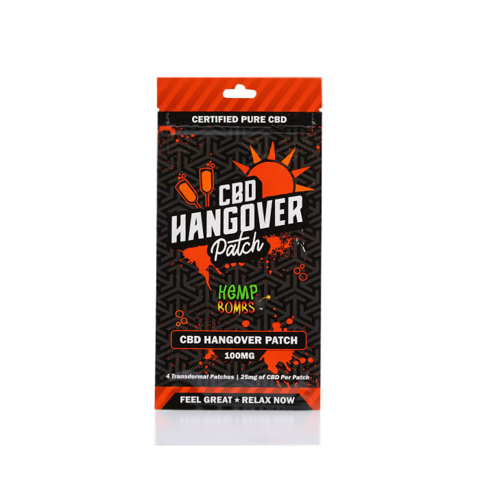Hemp Bombs Hangover Transdermal CBD Patch