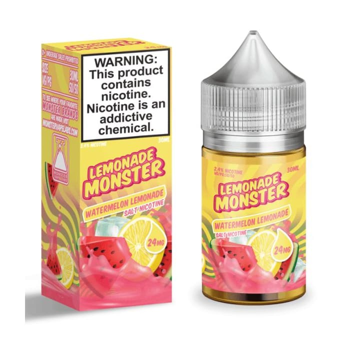 Lemonade Monster Salts Watermelon Lemonade