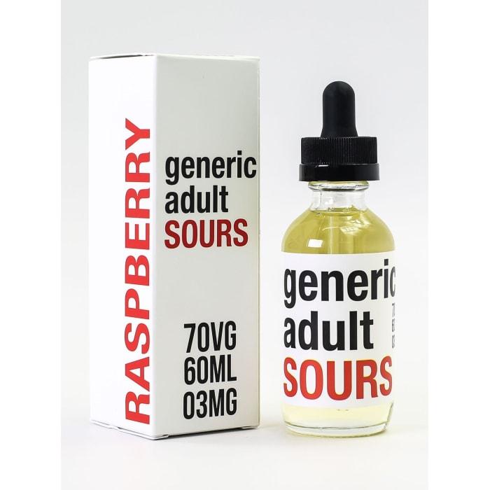 Generic Adult Sours - Raspberry (60ML)