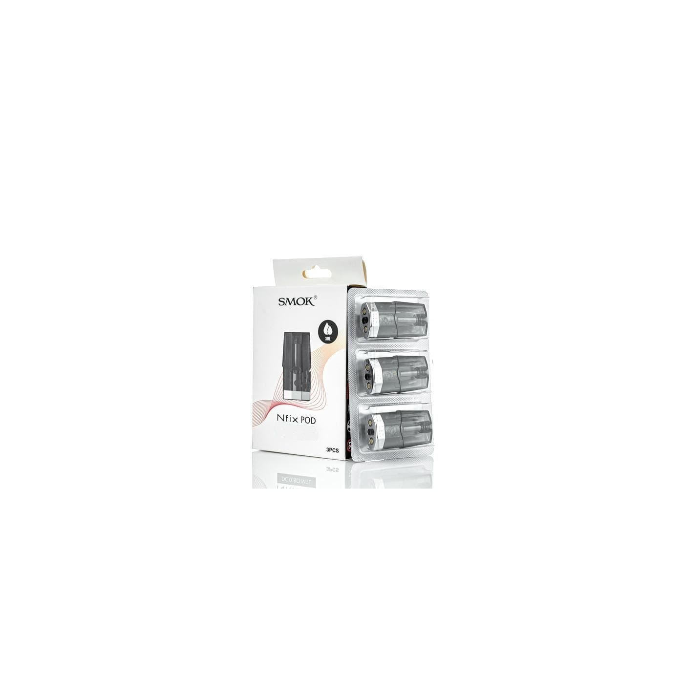 Smok NFIX SC MTL Pod - 1.0 ohm - 3 Pack