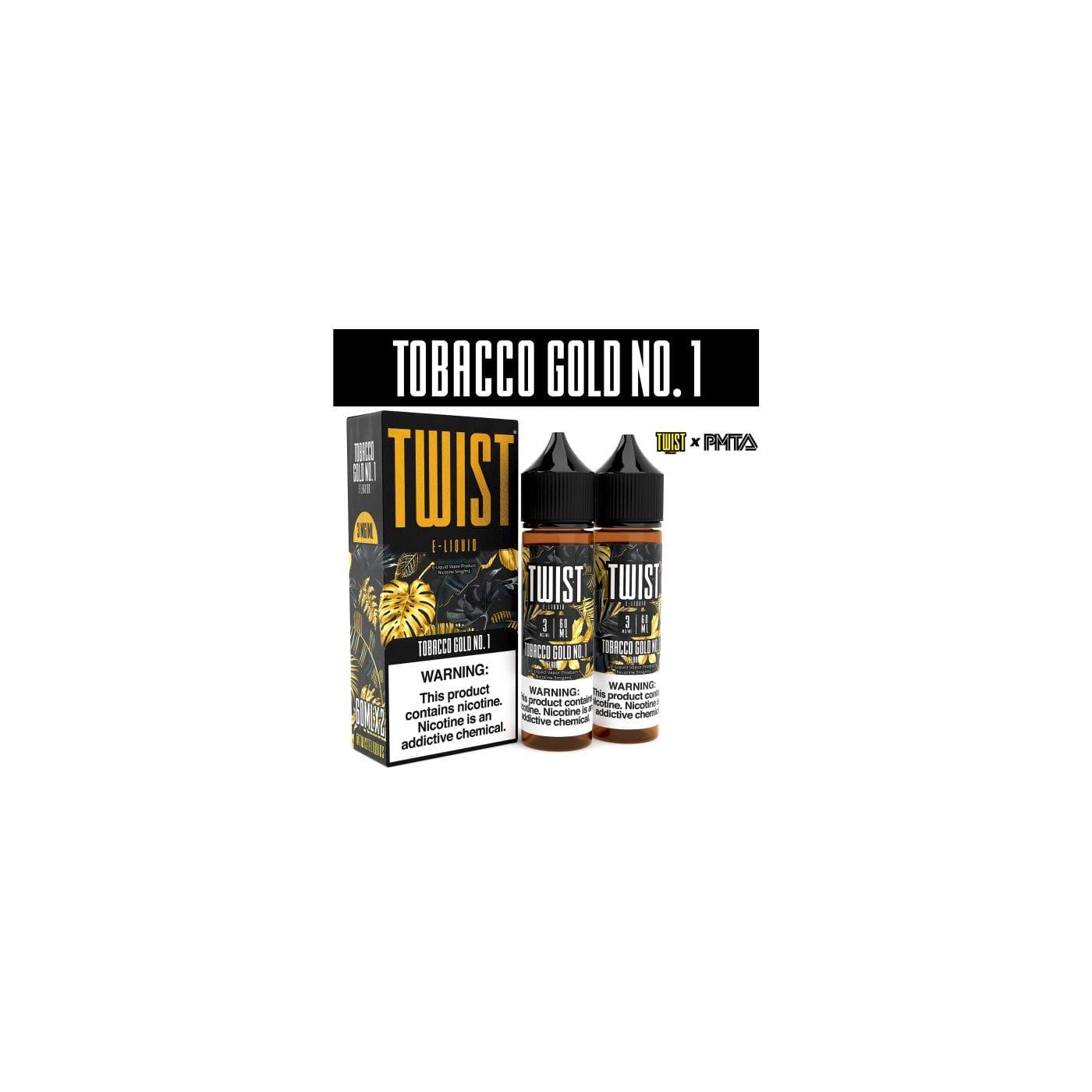 Twist Tobacco Gold No. 1 - 2 Pack