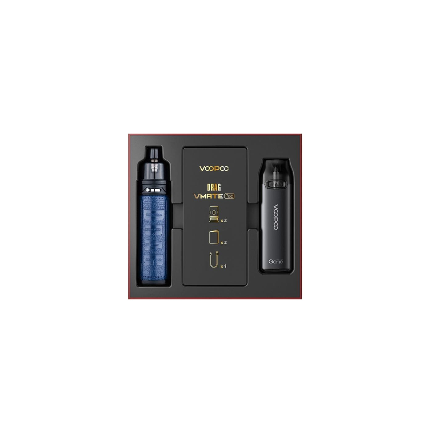 VooPoo Drag S and VMATE Pod Limited Edition Set