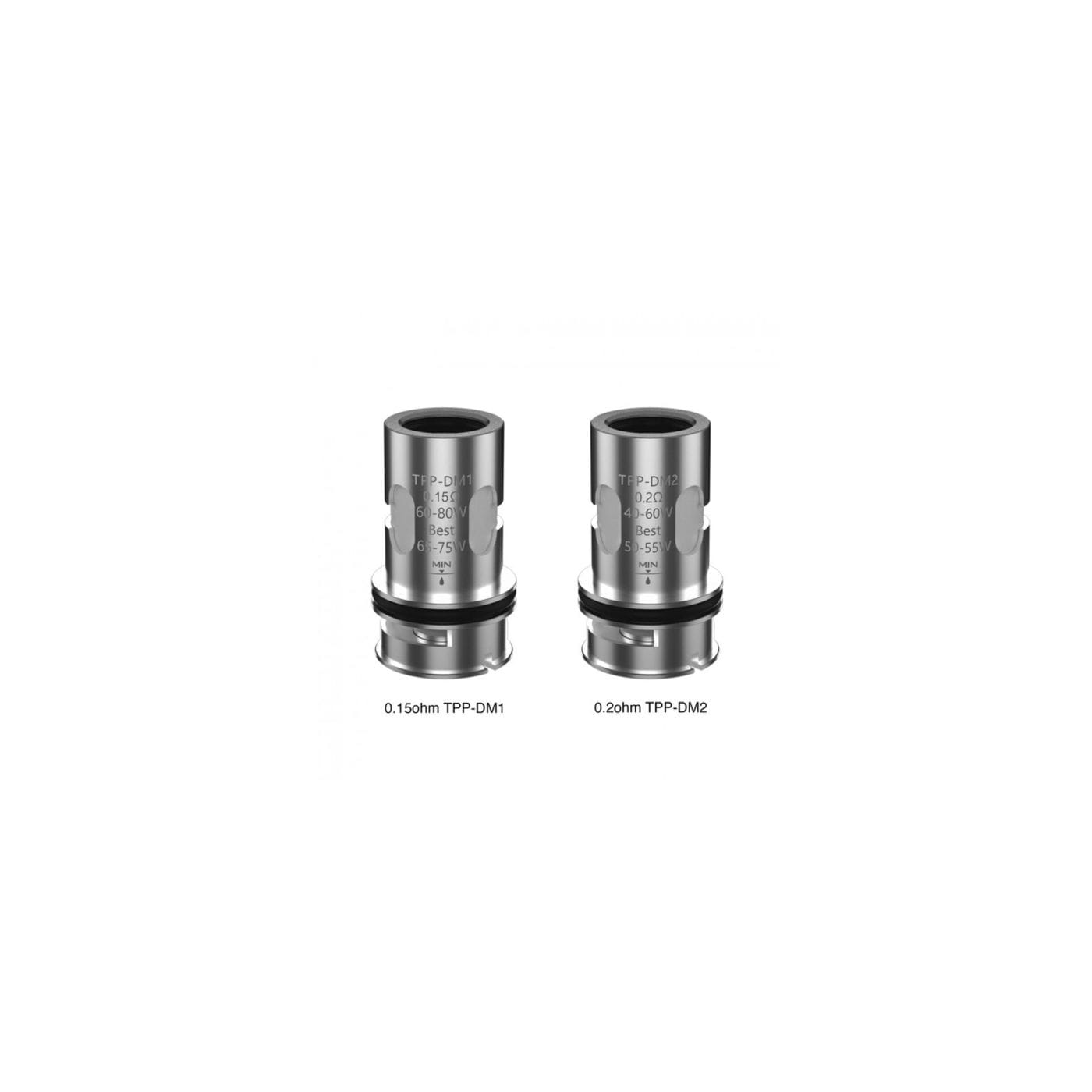 VooPoo TPP-DM Replacement Coil - 3 Pack