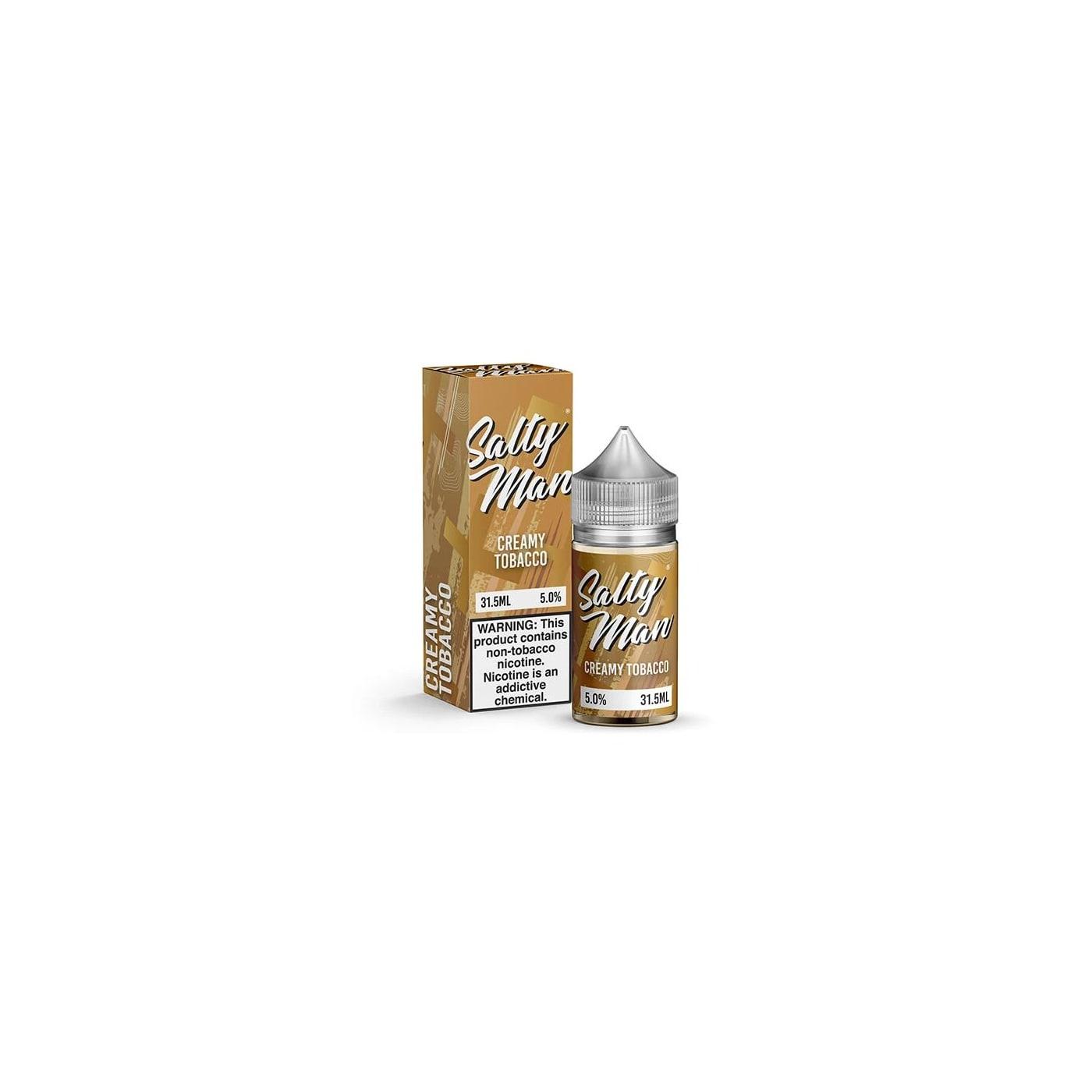 Salty Man NTN Creamy Tobacco