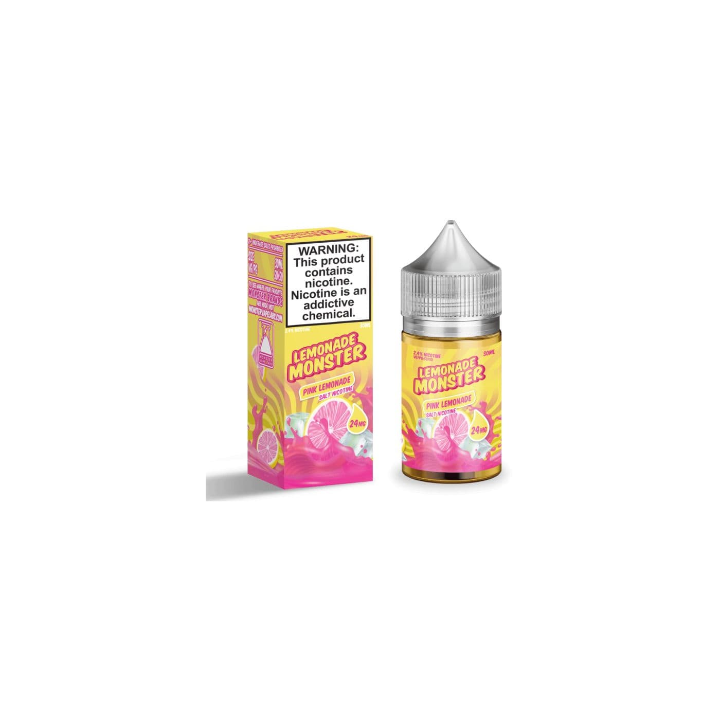 Lemonade Monster Salts Pink Lemonade