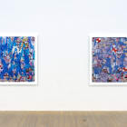 Petra Cortright, 2015, installation view, Foxy Production, New York