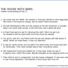 #118  THE HOUSE WITH BARS
