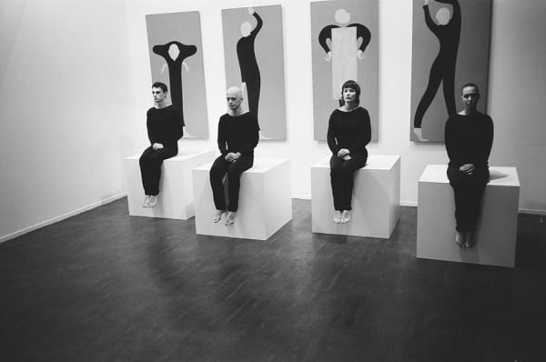 """""""Bow"""" - Performance with Liz Magic Lazer for """"Things, Words and Consequences"""" at the Moscow Museum of Modern Art"""