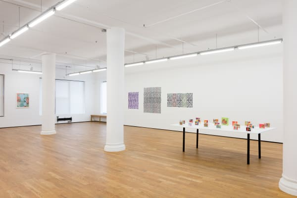 Threads, 2021, installation view, Foxy Production, New York