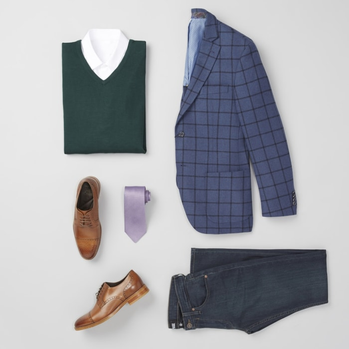Holiday outfit for men square