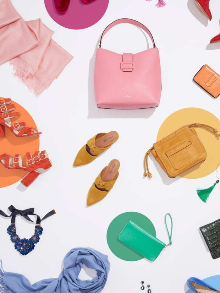 Colorful accessories for women