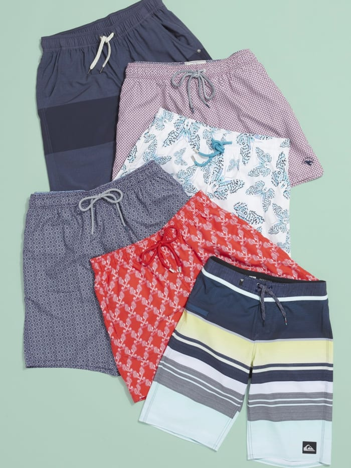 Swim trunks for men