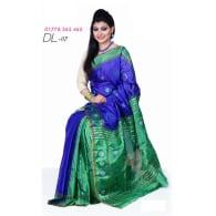 Soft Half-Silk Saree-DL-117