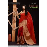 Soft Half-Silk Saree-UK-603