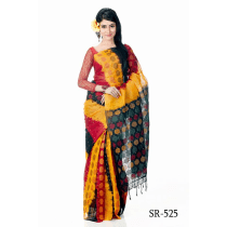Soft Cotton Tangail Saree- SR-525
