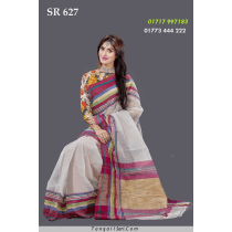 Soft Cotton Tangail Saree- SR-627
