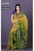 Soft Jamdani Saree-AN-1082