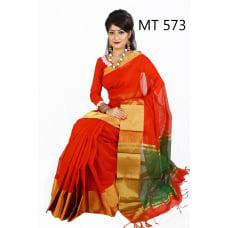 Gaye Holud-Cotton-Tangail-Saree--ts-573