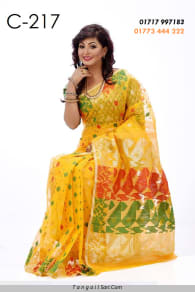 SOFT JAMDANI SAREE-C-217