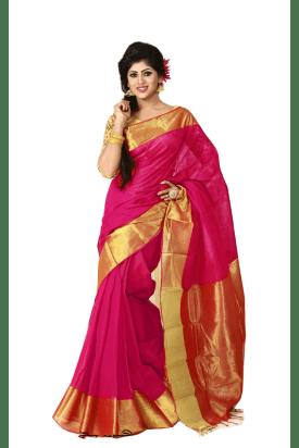 pure Cotton Tangail Saree-1400-TA